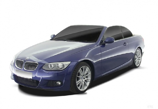 BMW Seria 3 Cabriolet E93 II kabriolet niebieski jasny