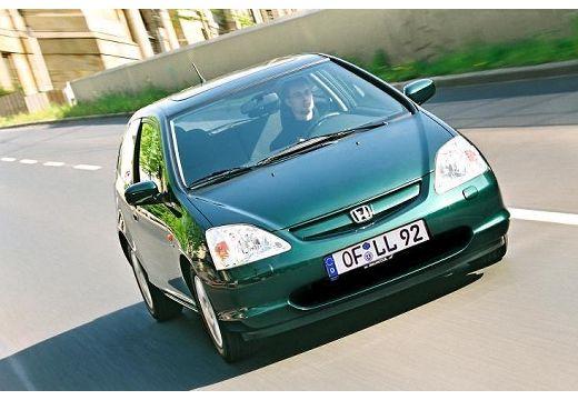 HONDA Civic IV hatchback zielony przedni prawy