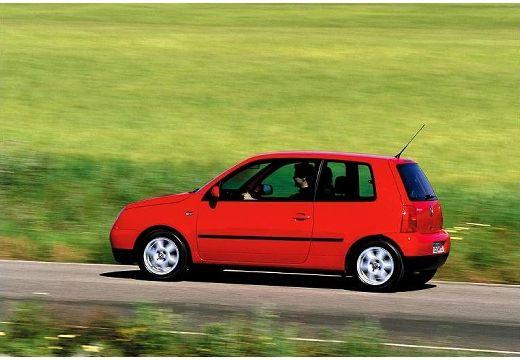VOLKSWAGEN Lupo hatchback czerwony jasny tylny lewy