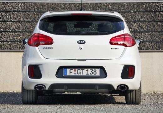 KIA Ceed III hatchback biały tylny
