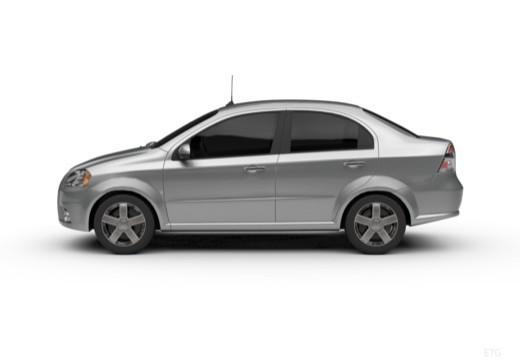 CHEVROLET Aveo II sedan boczny lewy