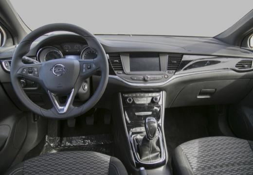 OPEL Astra V I hatchback czerwony jasny tablica rozdzielcza