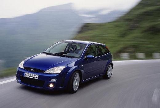 FORD Focus II hatchback niebieski jasny przedni lewy