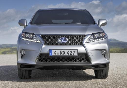 LEXUS RX III kombi silver grey przedni