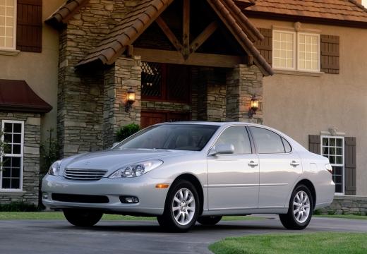 LEXUS ES sedan silver grey boczny lewy