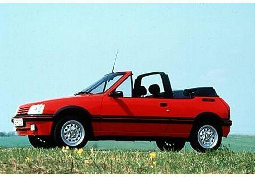 PEUGEOT 205 kabriolet czerwony jasny przedni lewy