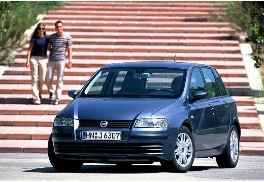 FIAT Stilo II hatchback szary ciemny przedni lewy