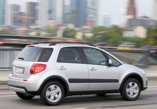SUZUKI SX4 II hatchback silver grey tylny prawy