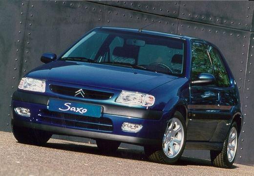CITROEN Saxo hatchback niebieski jasny przedni lewy