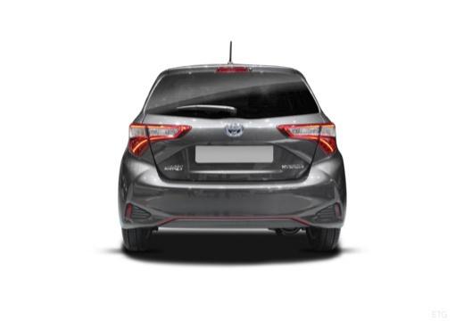 Toyota Yaris hatchback tylny