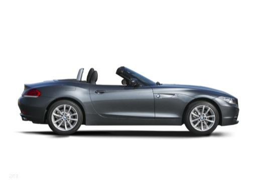 BMW Z4 E89 II roadster szary ciemny boczny prawy