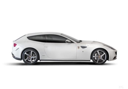FERRARI FF I coupe biały boczny prawy