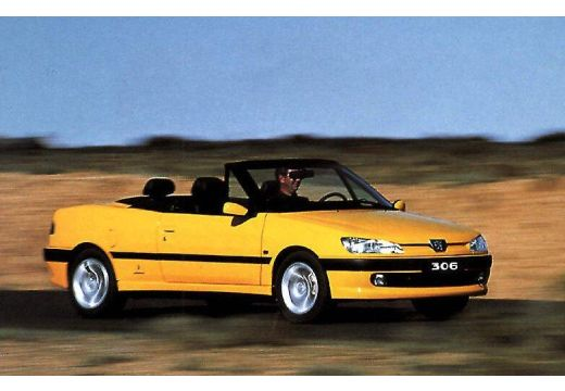 PEUGEOT 306 1.8 aut Kabriolet Cabrio I 101KM (benzyna)