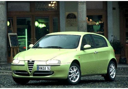 ALFA ROMEO 147 I hatchback zielony jasny przedni lewy