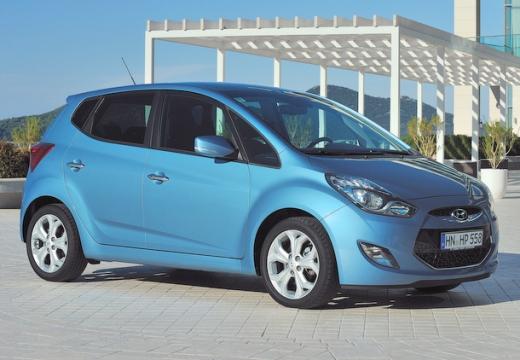 HYUNDAI ix20 I hatchback niebieski jasny przedni prawy