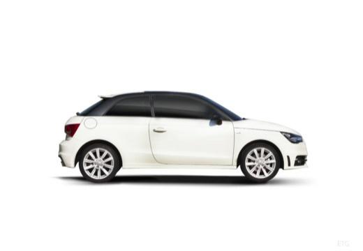 AUDI A1 I hatchback boczny prawy