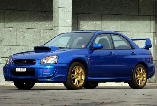 Subaru Impreza 2 0 Sti 4x4 Sedan Iv 265km 2002
