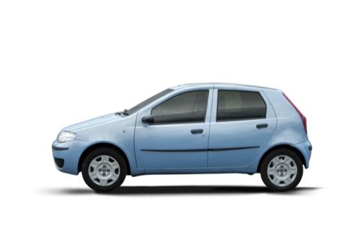 FIAT Punto II II hatchback niebieski jasny boczny lewy