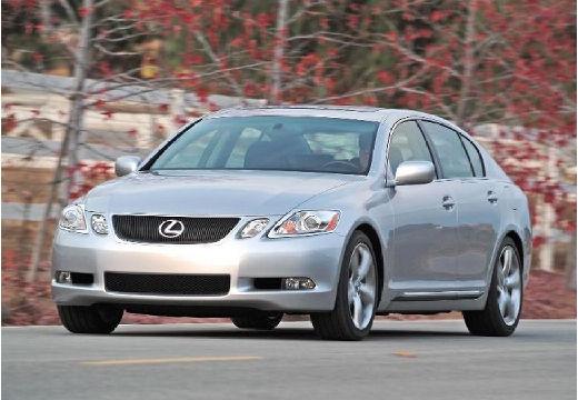 LEXUS GS sedan silver grey przedni lewy