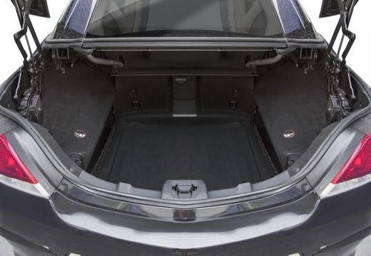 OPEL Astra TwinTop kabriolet czarny przestrzeń załadunkowa