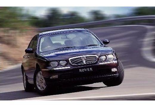 ROVER R 75 I sedan bordeaux (czerwony ciemny) przedni prawy