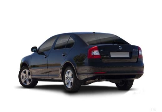 SKODA Octavia II II hatchback tylny lewy