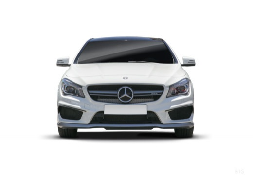MERCEDES-BENZ Klasa CLA Shooting Brake kombi przedni