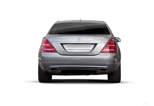 MERCEDES-BENZ Klasa S W 221 II sedan silver grey tylny