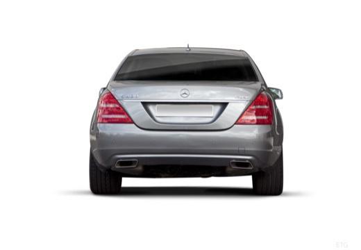 MERCEDES-BENZ Klasa S sedan silver grey tylny