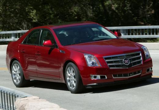 CADILLAC CTS II sedan czerwony jasny przedni prawy