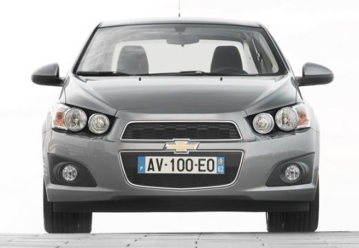 CHEVROLET Aveo III sedan silver grey przedni