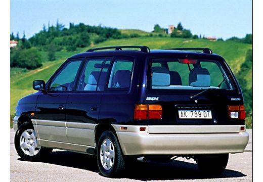MAZDA MPV I van niebieski jasny tylny lewy