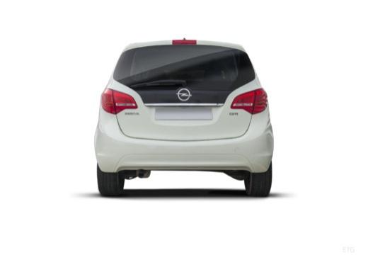 OPEL Meriva III hatchback tylny
