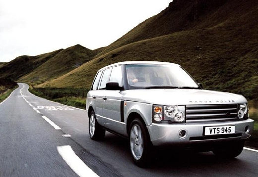 LAND ROVER Range Rover kombi silver grey przedni prawy
