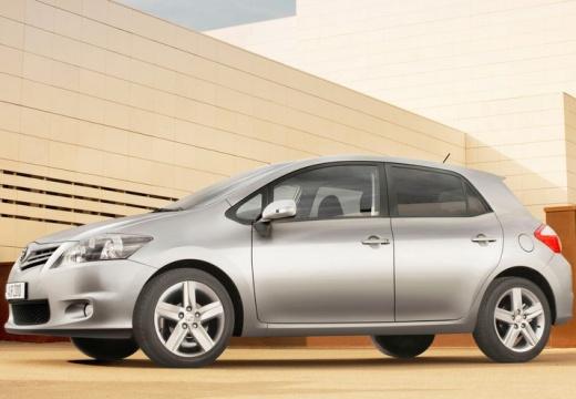Toyota Auris II hatchback silver grey przedni lewy
