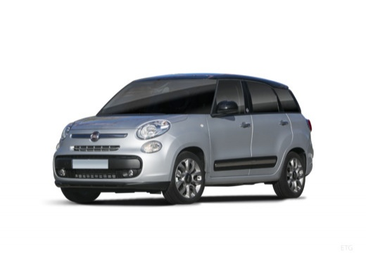 FIAT 500 L Living kombi silver grey