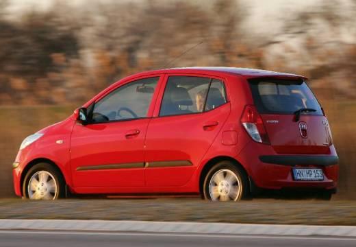 HYUNDAI i10 I hatchback czerwony jasny tylny lewy