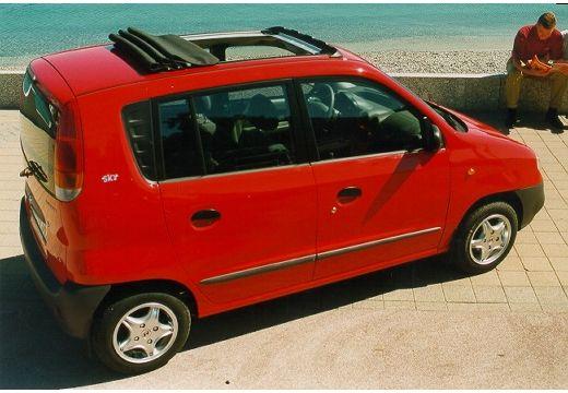 HYUNDAI Atos I hatchback czerwony jasny tylny prawy