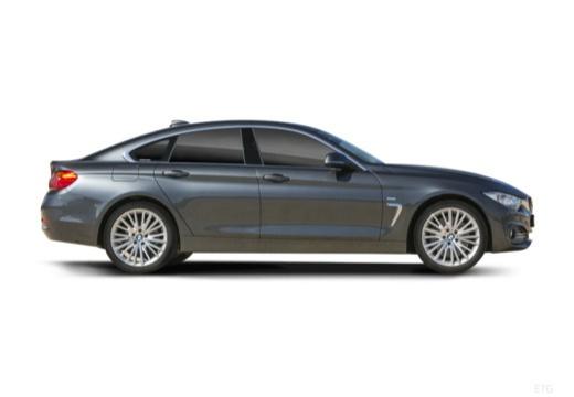 BMW Seria 4 Gran Coupe F36 I hatchback boczny prawy