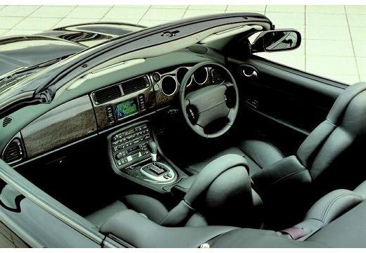 JAGUAR XK8 kabriolet czarny wnętrze