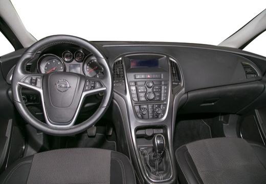 OPEL Astra IV I hatchback silver grey tablica rozdzielcza