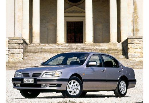 NISSAN Maxima QX I sedan silver grey przedni lewy