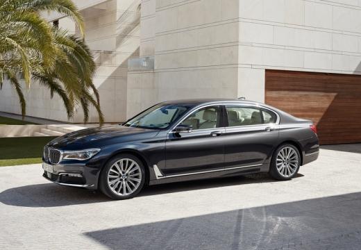 BMW Seria 7 G11 G12 I sedan czarny przedni lewy