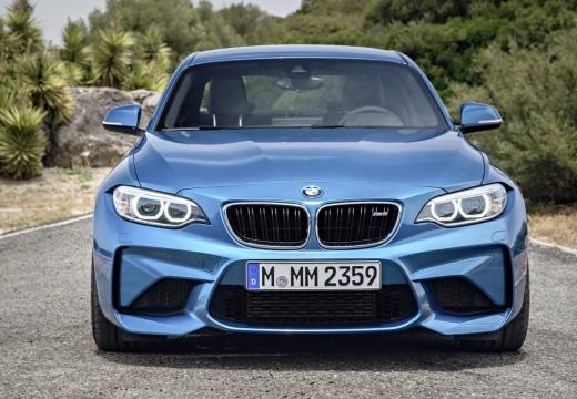 BMW Seria 2 F22 I coupe niebieski jasny przedni