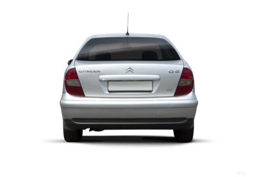 CITROEN C5 I hatchback silver grey tylny