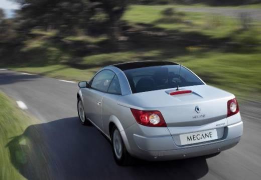 RENAULT Megane II CC kabriolet silver grey tylny lewy
