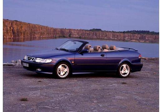 SAAB 9-3 Cabriolet I kabriolet niebieski jasny przedni lewy