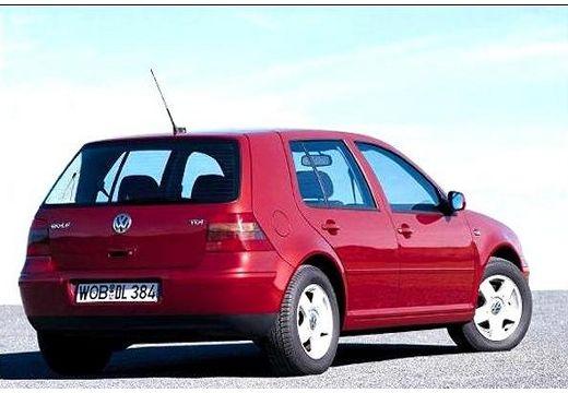 VOLKSWAGEN Golf IV hatchback bordeaux (czerwony ciemny) tylny prawy