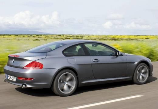 BMW Seria 6 E63 II coupe silver grey tylny prawy
