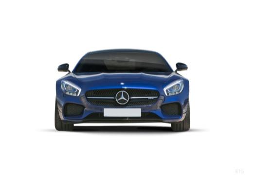 MERCEDES-BENZ Mercedes AMG GT coupe niebieski jasny przedni